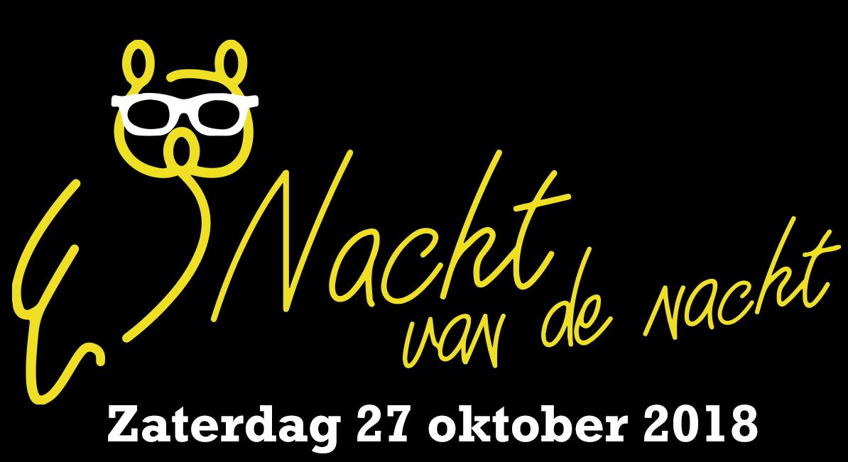 Zaterdag 27 oktober Nacht van de Nacht