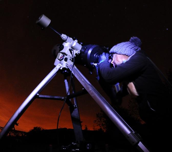 Masterclass Sterrenkunde van Govert Schilling en kijken door telescopen